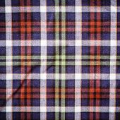 Scottish Green Blue Plaid Background