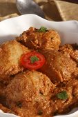 Awadhi Dum Aloo Is Stuffed Potato Cooked In Silky Sauce.