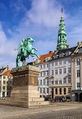 The Equestrian Statue Of Absalon, Copenhagen