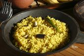 Hyderabadi Khichdi - An Indian/south Asian Rice Dish Made From Rice And Lentils(dal).