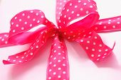Pink Present with Pok-a-Dot Bow