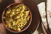 Cabbage Zunka - A Simple Veg Dish From Maharashtra