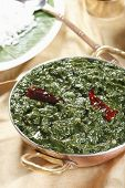 picture of tamil  - Keerai is the Tamil word of Spinach - JPG