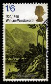 William Wordsworth Uk Postage Stamp