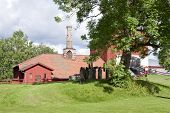 Pershyttan, old smelter, smeltery in Bergslagen. Iron foundry.
