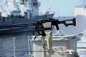 Machine gun Kalashnikov