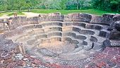 Polonnaruwa Ancient Stone Lotus Pond