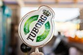 Tuborg Sign On Beer Dispenser