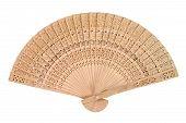 Wooden Oriental Fan