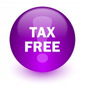 tax free internet icon