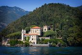 Villa Balbianello On Lake Como, Italy