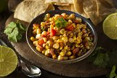 Homemade Spicy Corn Salsa