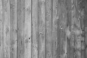 old wooden wall, gray background