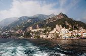 Amalfi Coast From The Sea