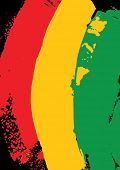foto of reggae  - reggae colors - JPG