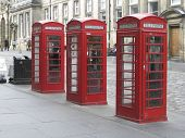 old phone boxes