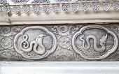 Zodiac Symbol Of Thai Traditional Lanna On The Wall