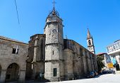 Santiago Church In Betanzos, Galicia