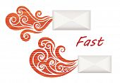 Fast mail icon