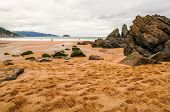pic of basque country  - Photographs of a beach in the Basque Country - JPG