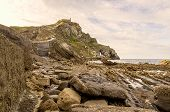 image of basque country  - Photographs of a beach in the Basque Country - JPG