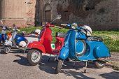 Vintage Italian Scooters Vespa