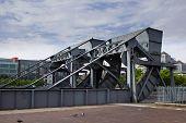 Scherzer rolling lift bridge, Dublin, Ireland