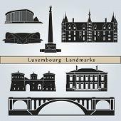 Luxemburg Landmarks