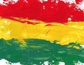 foto of reggae  - reggae colors - JPG
