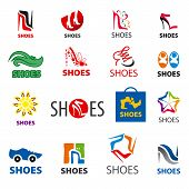 Biggest Collection Of Vector Icons Shoes