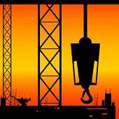 Construction Place Illustration