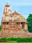 Temple in Khajuraho, India