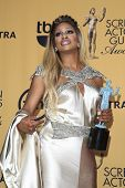 LOS ANGELES - JAN 25:  Laverne Cox at the 2015 Screen Actor Guild Awards at the Shrine Auditorium on January 25, 2015 in Los Angeles, CA