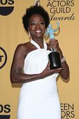 LOS ANGELES - JAN 25:  Viola Davis at the 2015 Screen Actor Guild Awards at the Shrine Auditorium on January 25, 2015 in Los Angeles, CA