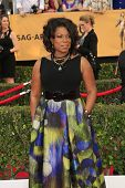 LOS ANGELES - JAN 25:  Lorraine Toussant at the 2015 Screen Actor Guild Awards at the Shrine Auditorium on January 25, 2015 in Los Angeles, CA