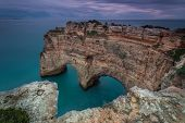 Heart Shape In The Maritime Landscape. The Coast Of Portugal.