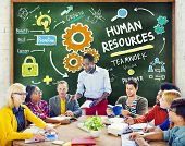 Human Resources Employment Teamwork Study Education Learning Concept