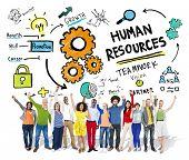 Human Resources Employment Teamwork People Celebration Success Concept
