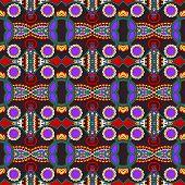 vintage pattern, ethnic style ornamental background
