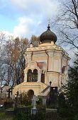 St. Nicholas Church In Alexander Nevsky Lavra.