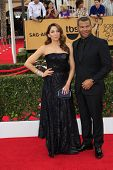 LOS ANGELES - JAN 25:  Chelsea Peretti, Jordan Peele at the 2015 Screen Actor Guild Awards at the Shrine Auditorium on January 25, 2015 in Los Angeles, CA