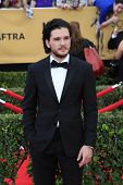 LOS ANGELES - JAN 25:  Kit Harrington at the 2015 Screen Actor Guild Awards at the Shrine Auditorium on January 25, 2015 in Los Angeles, CA