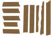 Masking paper tape strip