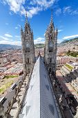 Quito Basilica Vertical