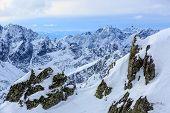 High Tatra mountains majestic landscape