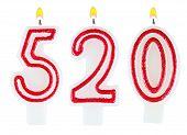 Candles Number Five Hundred Twenty