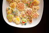Christmas Cookies Decorated.