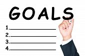 Write Goals List
