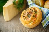 Bun With Cheese And Herbs