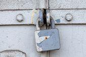 picture of lock  - Vintage  - JPG